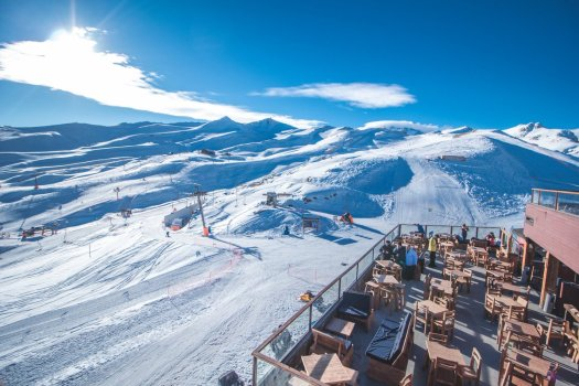 Valle Nevado is having a better luck this season, with all but only one lift opened.