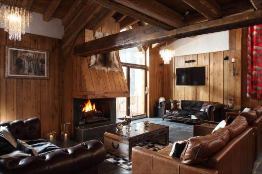 Madeleine, Chalet in Val D'Isere, France, Firepace. Photo: Skiworld. Skiworld launch flash sale with big discounts on range of resorts