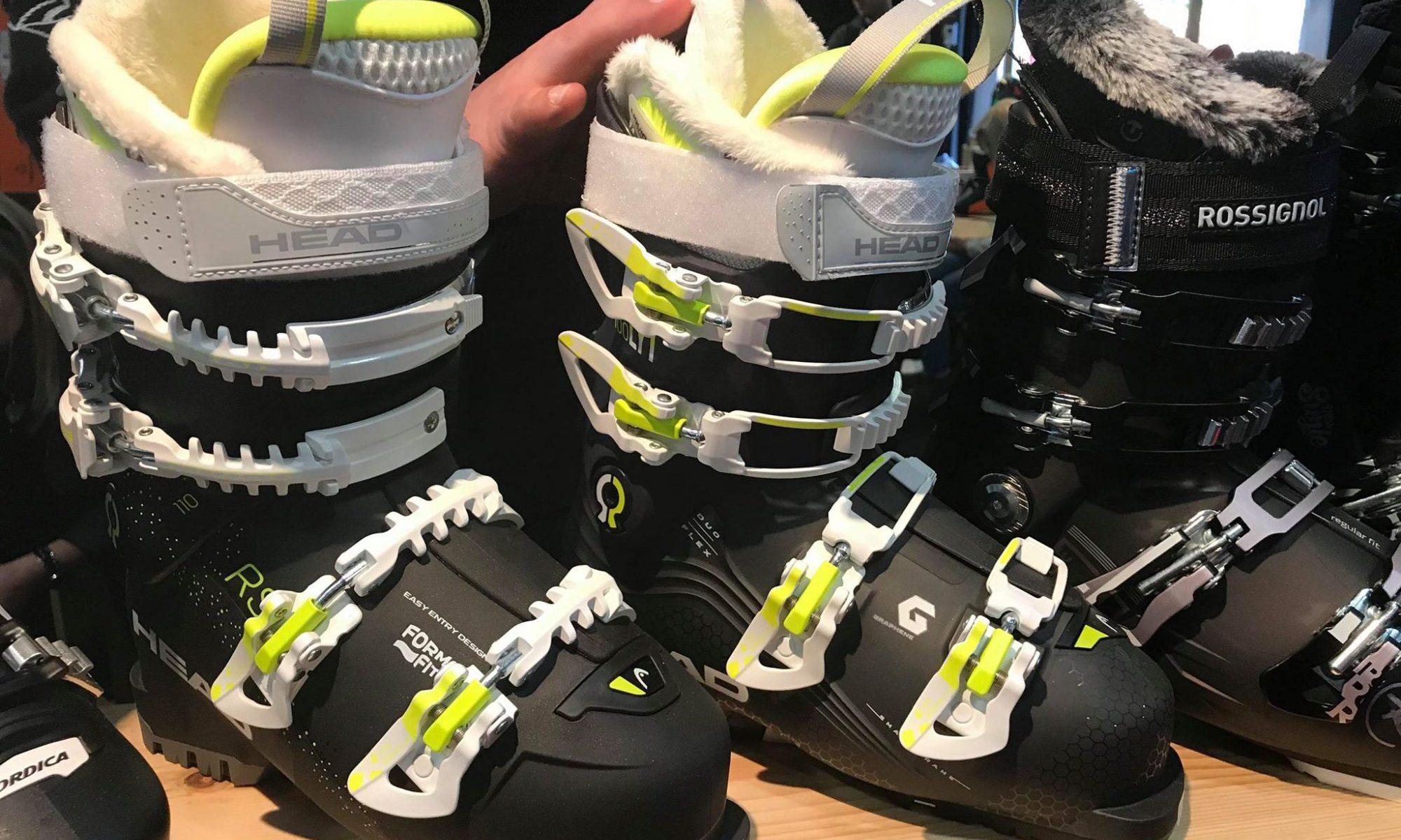 Head Vector Ski Boot 2019- sold at Finches Emporium. Telegraph Ski and Snowboard Show. Photo: The-Ski-Guru.