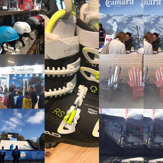 A bit of what you could see at the London Ski Show this year. Photo: The-Ski-Guru.