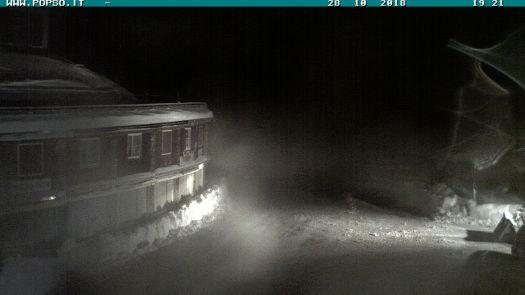 Stelvio Pass webcam 28 October.