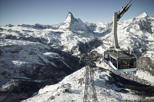 PB Rothorn- Matterhorn Paradise. Photo credit: Zermatt Bergbahnen.