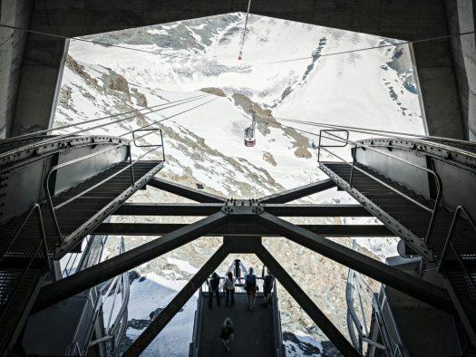 Matterhorn Paradise. Credit: Zermatt Bergbahnen. Ikon Pass to include Zermatt and Cervinia for the 2019/20 ski season.