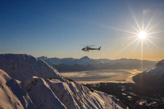 Heliskiing from Alyeska.  Courtesy: Alyeska Resort - Alyeska Resort and Hotel Alyeska in Girdwood to be sold to a Canadian hospitality company.