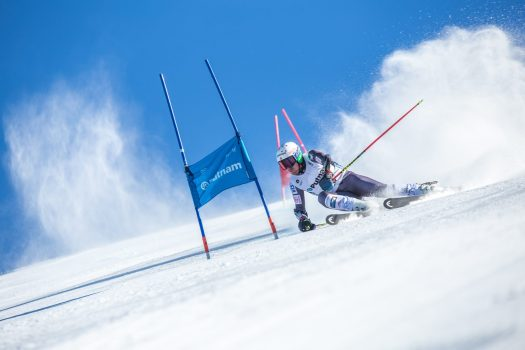 The US Ski team is going to train for the next four years in Alpe Cimbra. Photo Ted Ligety - Salizzona piste.