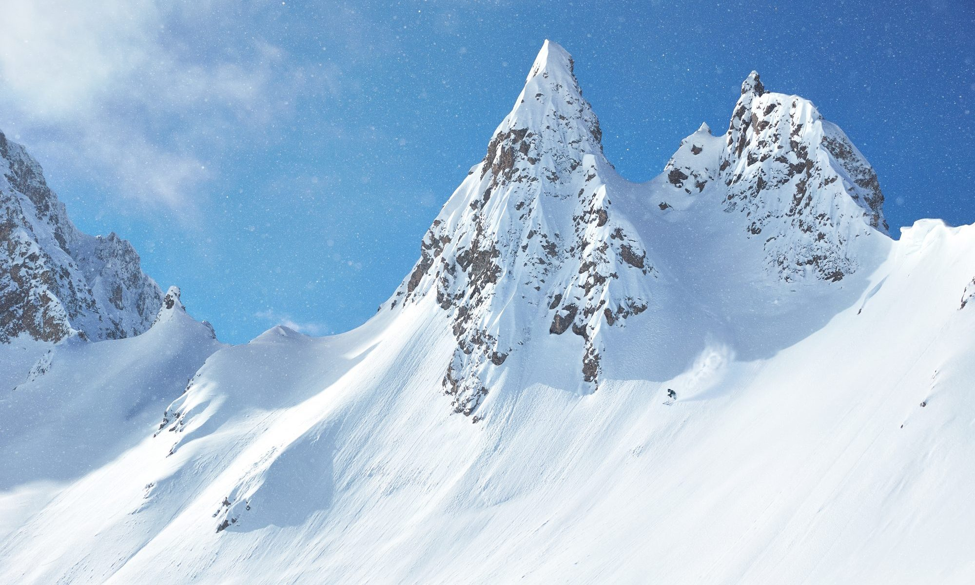 The new Corvus- a big mountain ski - Photo: Black Crows.