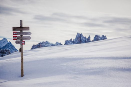 Cortina in Winter. Photo Alessandro Ghinato. Cortina Marketing. Cortina D'Ampezzo is gearing up for a great winter season and the 2021 Ski World Championships.