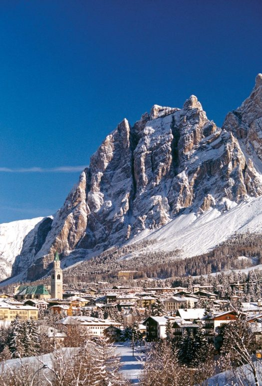 Cortina da Cojana. Photo: Cortina Marketing. Cortina D'Ampezzo is gearing up for a great winter season and the 2021 Ski World Championships.