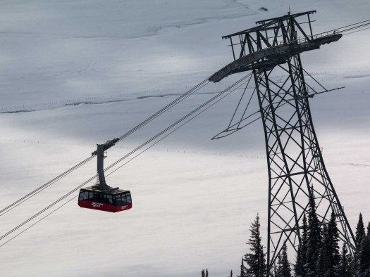 Jackson Hole tram. Destimetrics reports that snowy winter set new records at Western Mountains Destinations.