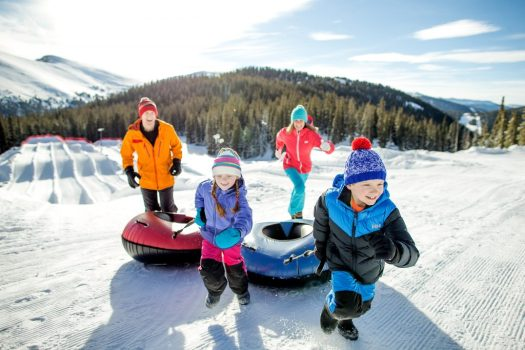 Keystone photo: Daniel Milchev. Families have all kinds of fun with the snow, here sledging down the mountain. Vail Resorts Commits to $175 Million to $180 Million in Capital Investments to Reimagine the Guest Experience for the 2019-20 Season.