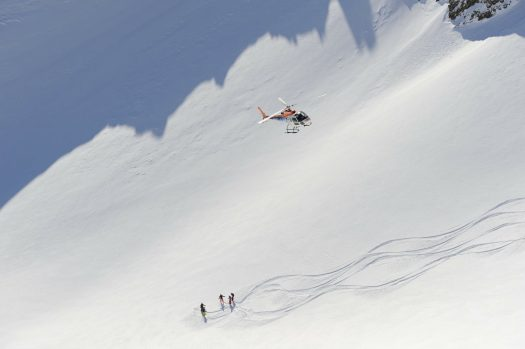 Heli-skiing at Lech Zürs am Arlberg. Photo by Sepp Mallaun. Lech Zürs Tourismus. The Must-Read Guide to Lech.