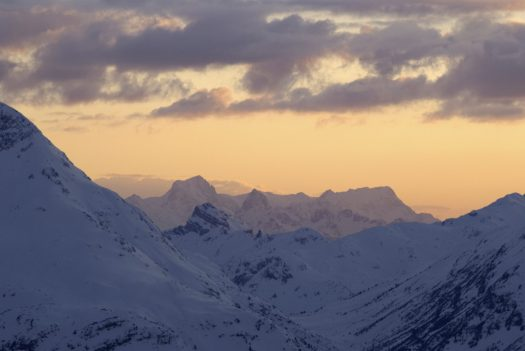 The sun is coming down in Lech - Photo: Hans Wiesenhofer. Lech Zürs Tourismus. Must-Read Guide to Lech.