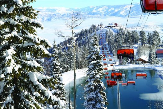 Orange Bubble Express in Park City. Photo: Vail Resorts. Vail Resorts Commits to $175 Million to $180 Million in Capital Investments to Reimagine the Guest Experience for the 2019-20 Season.