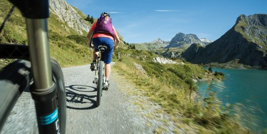 There are lots of cycling trails in the summer around Lech and Zürs. Photo by Hanno Mackowitz. Lech Zürs Tourismus. The Must-Read Guide to Lech.