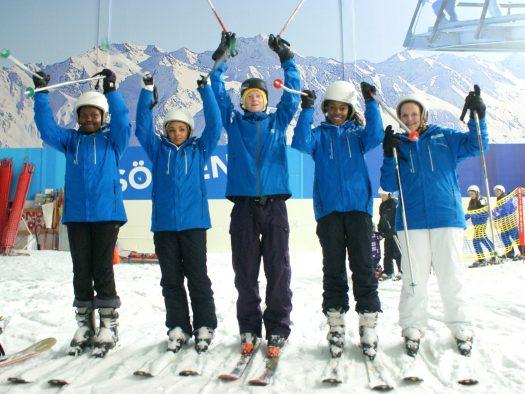 Photo: Snow-Camp- Skiworld. Skiworld help Snow-Camp raise a massive £50,000