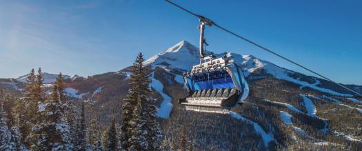 Photo: Big Sky Resort. World's Most Technologically-Advanced Chairlift Debuted at Big Sky Resort.