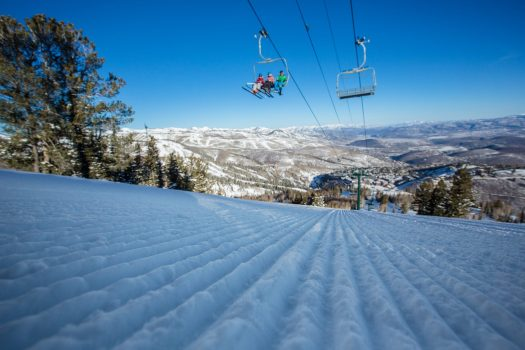 First chair in the winter. Photo: Deer Valley Resort. Deer Valley who was awarded Best US Ski Resort by the World Ski Awards for the sixth year, opens this Saturday December 8th .