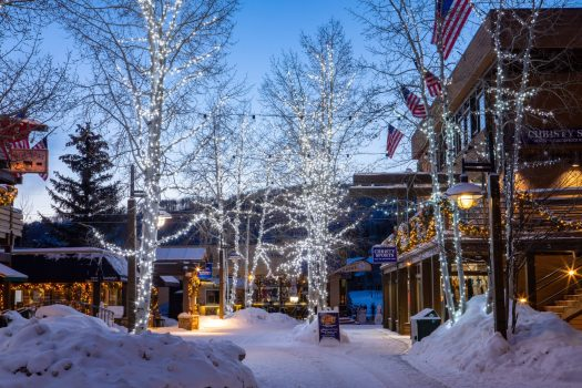 Photo: Aspen Snowmass. Aspen Snowmass Receives up to Eight Inches of New Snow Overnight.
