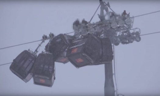 A Gondola Accident happened in Hochzillertal today.