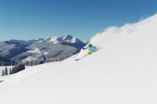 Powder in Back Bowls In Vail, CO. Photo: Jack Affleck. Vail Resorts. Vail Resorts Ceo Rob Katz Gives $2 Million in Grants to Support Mental & Behavioral Health Programs in Mountain Resort Communities across North America.