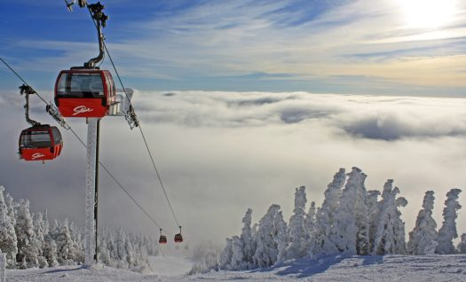 Stowe Mountain Resort Gondola. Photo: Vail Resorts. Vail Resorts Ceo Rob Katz Gives $2 Million in Grants to Support Mental & Behavioral Health Programs in Mountain Resort Communities across North America.