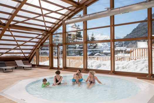 The Piscine at Champagny. La Plagne. What is new at La Plagne for the 2018 – 19 ski-season.