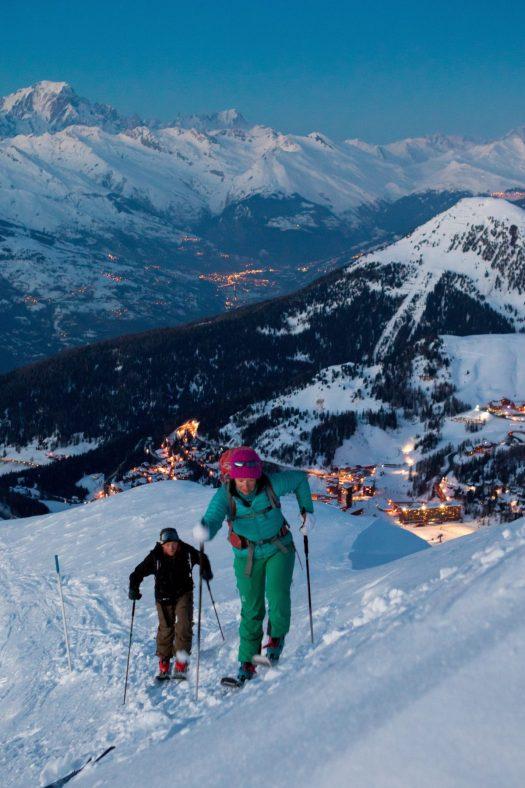 Ski de Randonnée at La Plagne. What is new at La Plagne for the 2018 – 19 ski-season.