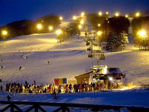 Night skiing at Rusutsu. Rusutsu, the Japanese Resort joins the EPIC Pass for the 2019-20 ski season.