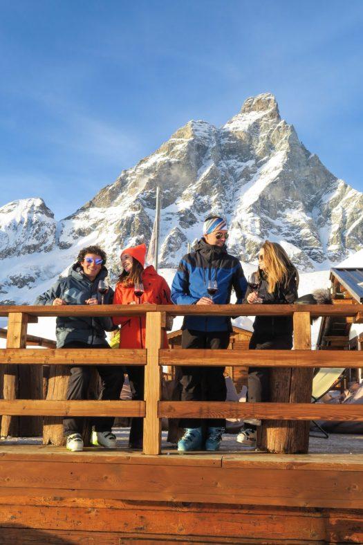 With the IKON Pass, you can also ski in Cervinia Valtourneche with your Zermatt lift. Photo: Enrico Romanzi. Cervino Spa. Ikon Pass to include Zermatt and Cervinia for the 2019/20 ski season