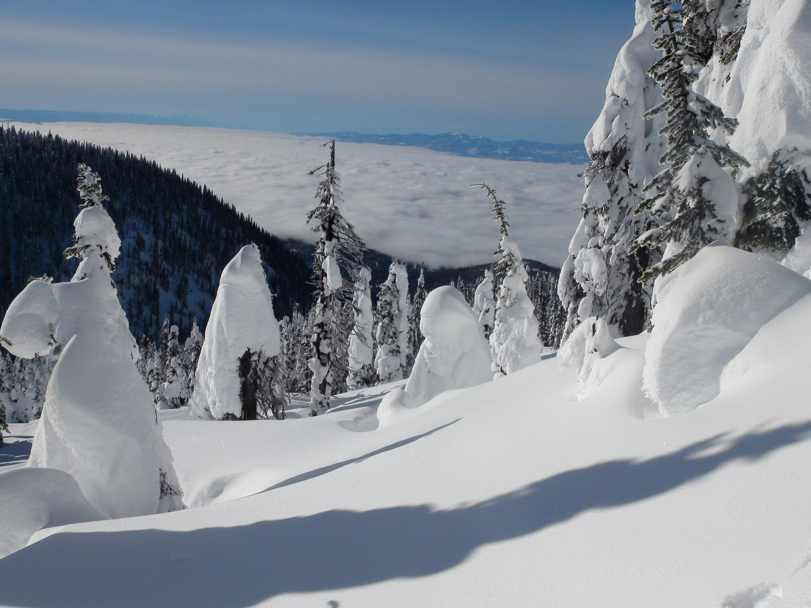 Whitefish - Basin Inversion. Photo: Whitefish Mountain Resort. Whitefish Mountain Resort got 140 people evacuated from chairlift.