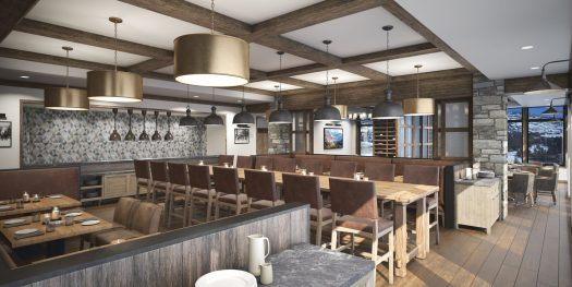 Snowpine Lodge-Final Render. Credit: Snowpine Lodge. Snowpine Lodge Set to Open January 30, 2019.