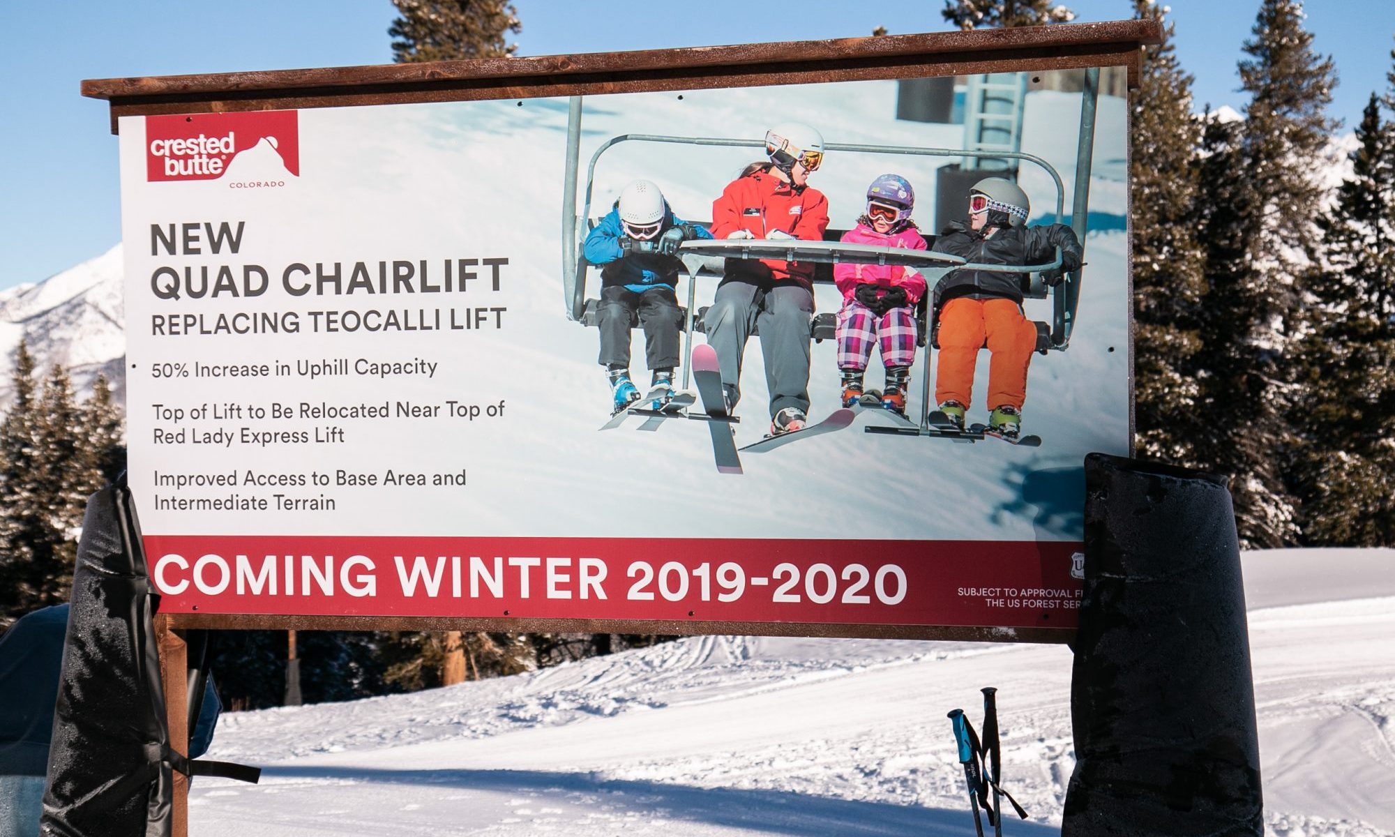 Crested Butte Mountain Resort- Vanderlinden. Crested Butte Mountain Resort Announces Plans to Replace the Teocalli Lift for the 2019-20 Winter Season.