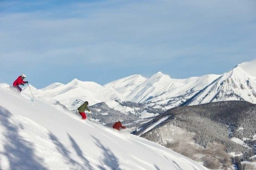 Skiing the Butte - Photo by Nathan Billow- Crested Butte Mountain Resort. Crested Butte Mountain Resort Announces Plans to Replace the Teocalli Lift for the 2019-20 Winter Season.