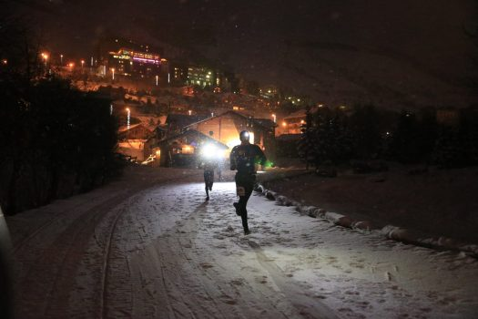 A night snow trail- Photo by Monica Dalmasso. Les 2 Alpes. What is New at Les 2 Alpes this season.