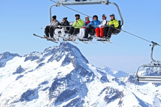 Winter in Les 2 Alpes - Photo by B. Longo. Les 2 Alpes. What is New at Les 2 Alpes this season.