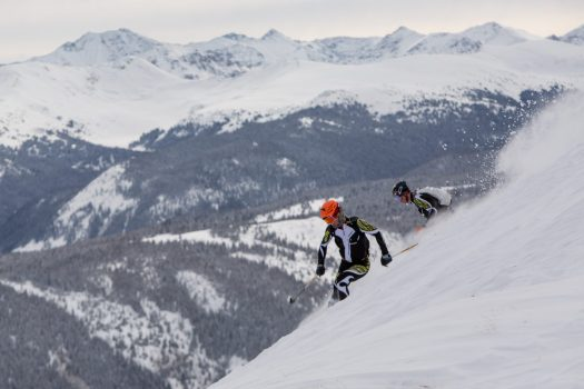 Men's 1st Place. Photo credit: Aspen Skiing Company. Audi Power of Four Ski Mountaineering Race Mar. 2-3. New United States Ski Mountaineering Association National Championship.