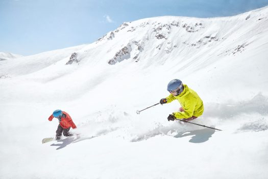Peak 6 in Breckenridge, CO. Photo Andrew Maguire. Vail Resorts. Was the past one a great ski season? Enjoy it for now!