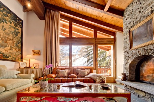 The New Address in Zermatt – Chalet Zen, photo courtesy of Chalet Zen.