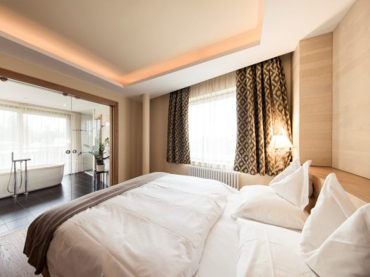 Panorama Suite at the Hotel Petrus. A Must-Read Guide to Summer in South Tyrol. Book your stay at the Hotel Petrus here.