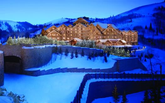 The Most Expensive Resorts in the USA. Montage Deer Valley Exterior. Where to Stay in Deer Valley.