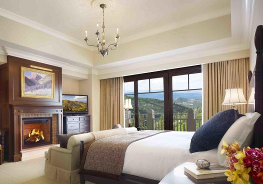 Room at the Montage Deer Valley. The Most Expensive Resorts in the USA.