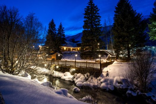 Sun Valley Trail Creek Cabin. Photo: Sun Valley Resort. Sun Valley and Snowbasin Join the Epic Pass.