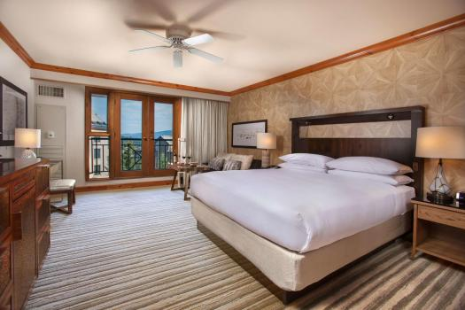 Double room at the Park Hyatt Beaver Creek hotel. The Most Expensive Ski Resorts in the USA.