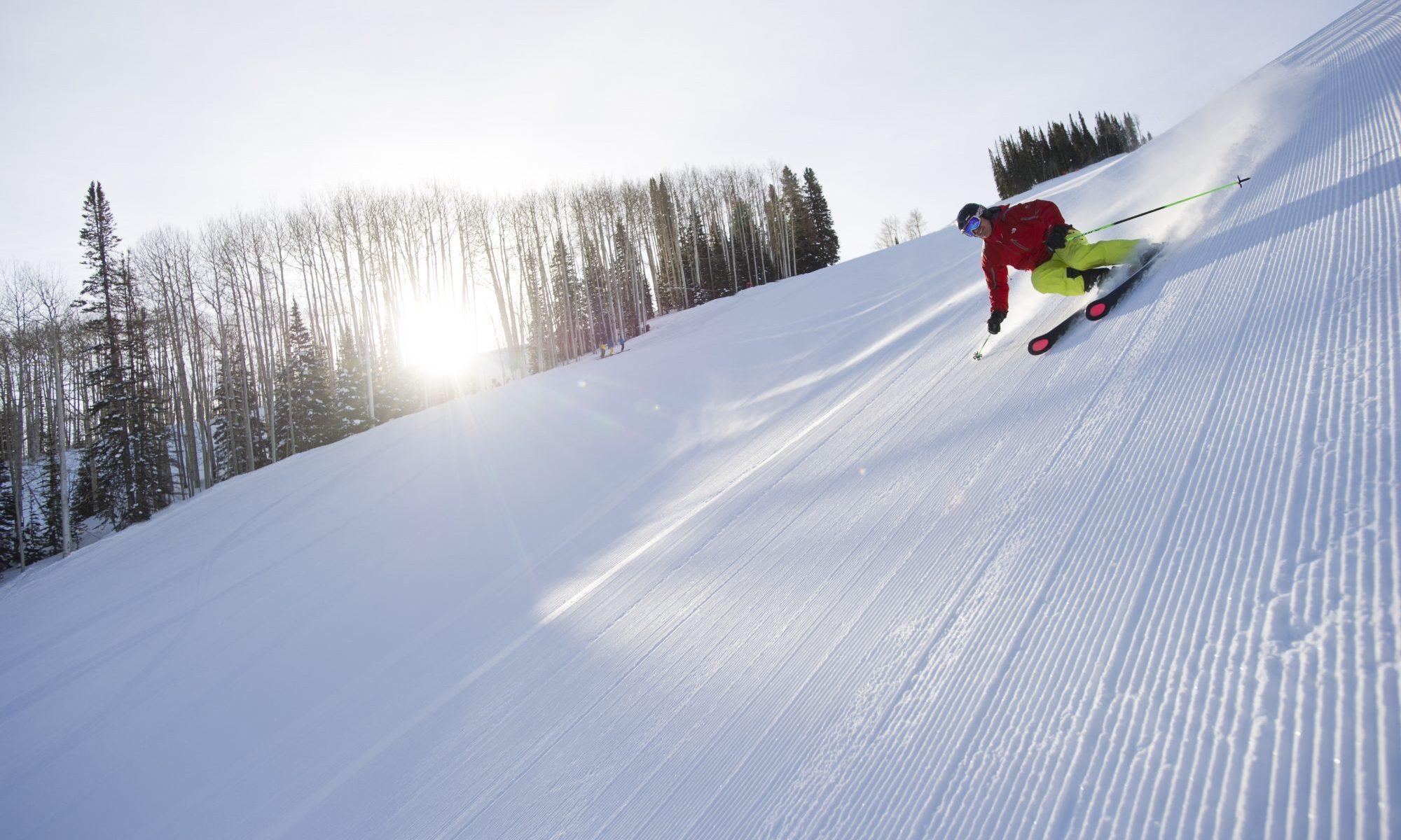 Matt Ross skiing at Aspen Resort, Aspen, Colorado. Aspen Snowmass. Aspen Snowmass Adds Another Bonus Weekend for Skiing and Riding.