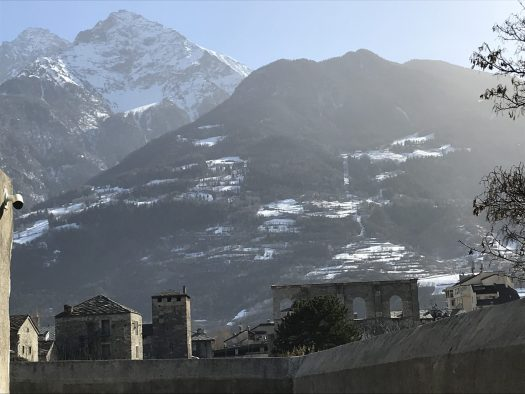 Aosta - the Rome of the Alps - Aosta is the second city in Italy with the most Roman ruins. Photo: The-Ski-Guru. The Half Term Family Ski Holiday that did not result as planned.