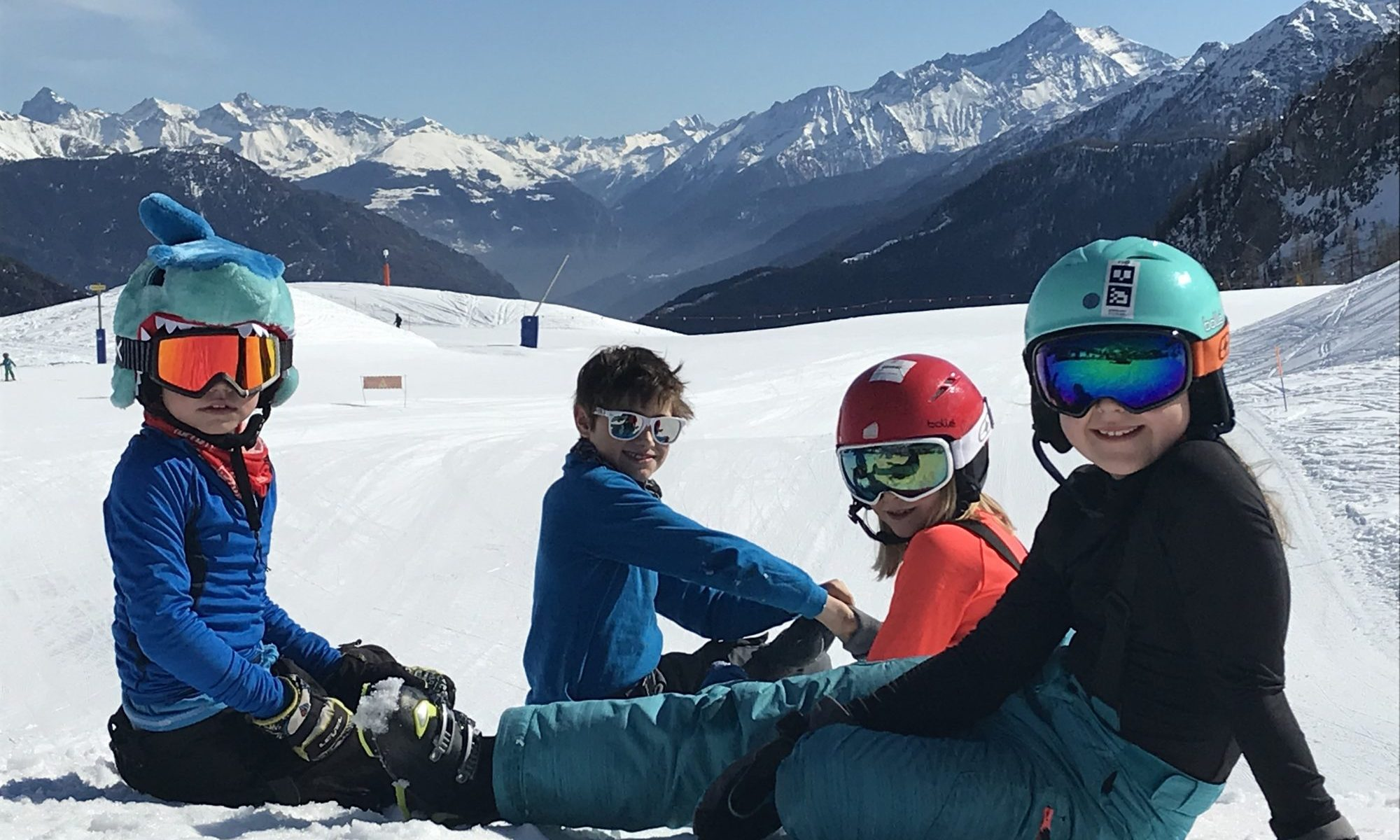The kids at Maison Vielle- enjoying the day in the sun. Photo: The-Ski-Guru. So, you want to take your family skiing, but you do not know where to start?