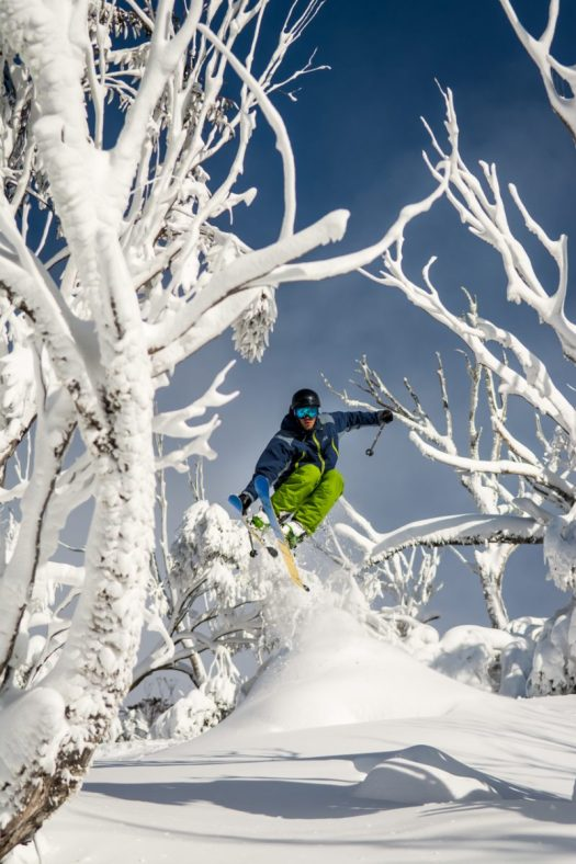 Tree skiing in Thredbo , Australia, part of the Mountain Collective. The Mountain Collective goes on Sale for the 2019-2020 Season. Valle Nevado, Chile added as first South American partner.