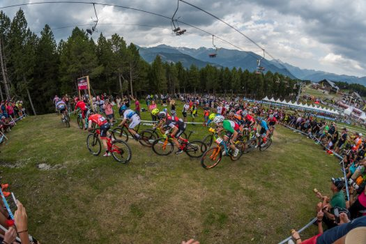 World Cup Vallnord Pal Arinsal 2018. Photo: Vallnord Pal Arinsal. Vallnord Pal Arinsal is ranked as one of the top 9 bike parks in the world by Red Bull.