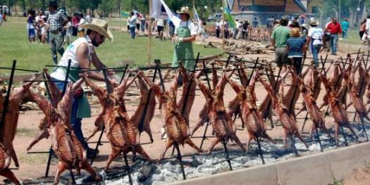 Photo: The Festival of the Chivo (Goat) in Malargue, an event worth going to see (if you are not vegetarian).