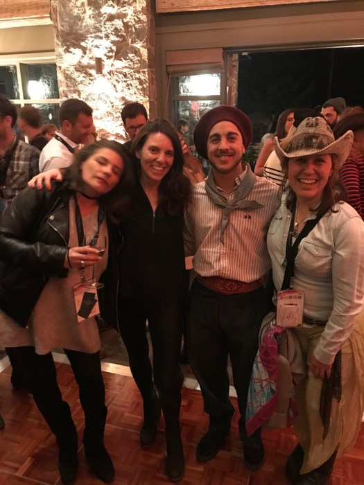 The Argentine attendees at the MTS party. Photo: The-Ski-Guru. Mountain Travel Symposium 2019 in Whistler – a recap.